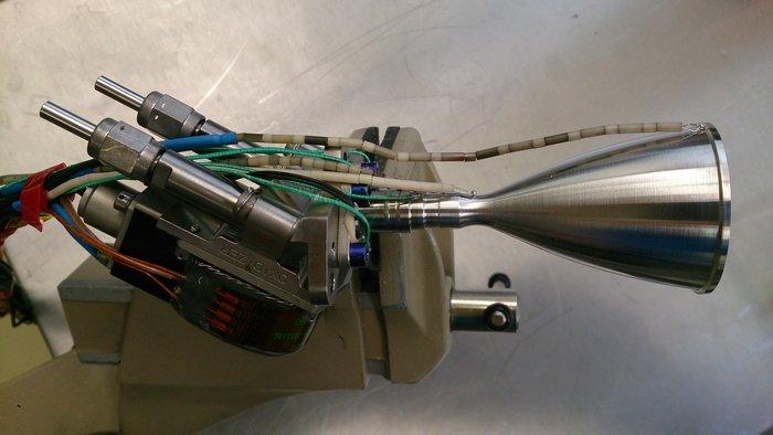 3D thruster chamber