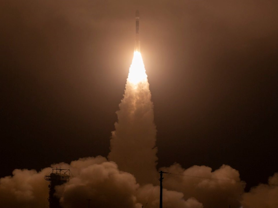 ICESat-2 is launched in September 2018. Credit: Nasa.