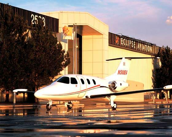 The first Eclipse 500 very light jet was delivered on 31 December 2006.