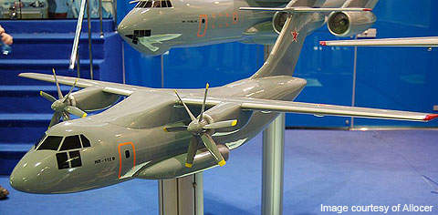 A concept model of the IL-112 LTA.