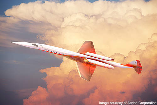 The Aerion SBJ will reduce the journey time between NewYork and Paris to 4.25 hours.