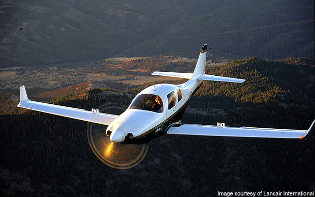 Lancair IV is one of the fastest civil aviation aircraft in the world.