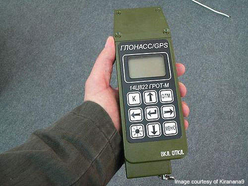 Glonass receiver of the Russian Military.