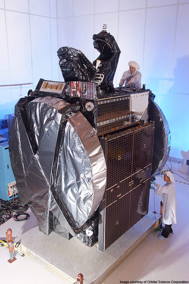 Thor 5 is designed and built by Orbital Science Corporation.