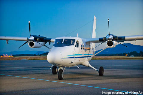 DHC-6-400 designed and built by Viking Air.