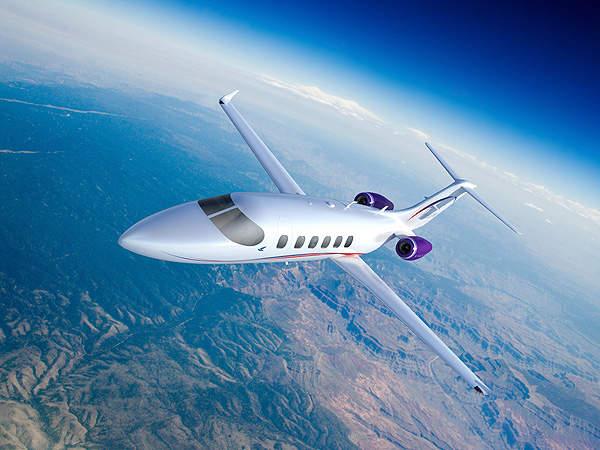 Artistic impression of the S-40 Freedom mid-sized light business jet. Image courtesy of Spectrum Aeronautical.