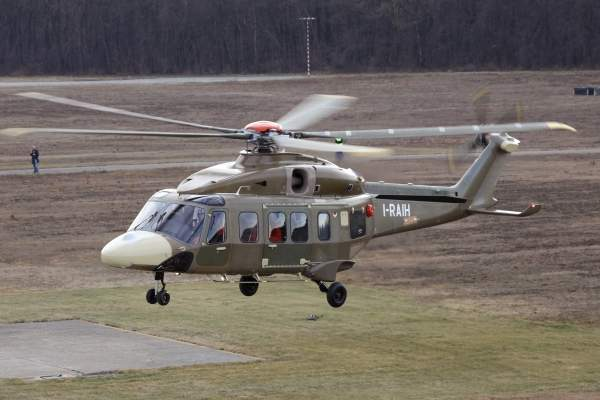 The AW189 is a multirole, twin-engine helicopter designed by AgustaWestland. Image courtesy of AgustaWestland.