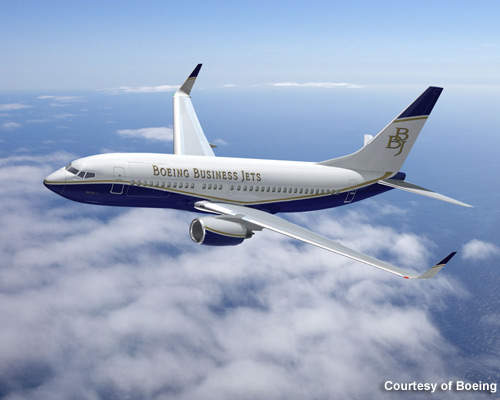 Boeing has launched the latest in its business jets range, the BBJ convertible.