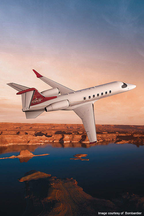The Bombardier Learjet 85 development programme commenced in 2007.