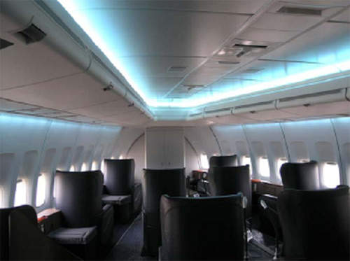 Our Ecls Provides An Alternative To Fluorescent Cabin Lighting System And Uses 100 37 Led Rgb Technology