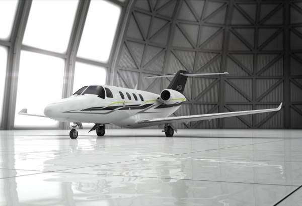 Citation M2 is a new light business jet designed by Cessna. Image courtesy of the Cessna Aircraft Company.