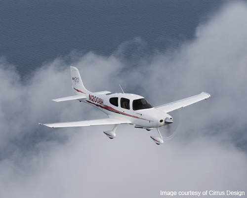 The SR20 is a general aviation aircraft manufactured by Cirrus design.