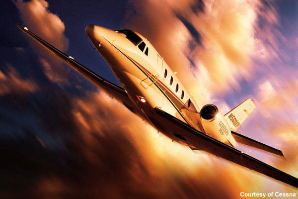 Cessna Citation XLS Plus and Citation Sovereign Business