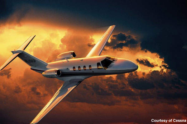 The CJ1 plus, the successor to the year 2000 model CJ1, was first announced at the NBAA trade show in 2004.