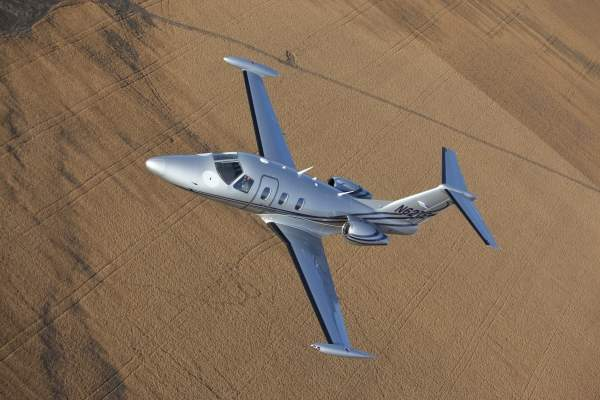 The Eclipse 550 is derived from the Eclipse 500. Image courtesy of Eclipse Aerospace.