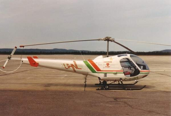 F-28 is a single-engined light trainer or utility helicopter designed and developed by Enstrom Helicopter Corporation of the US. Image courtesy of Ahunt.