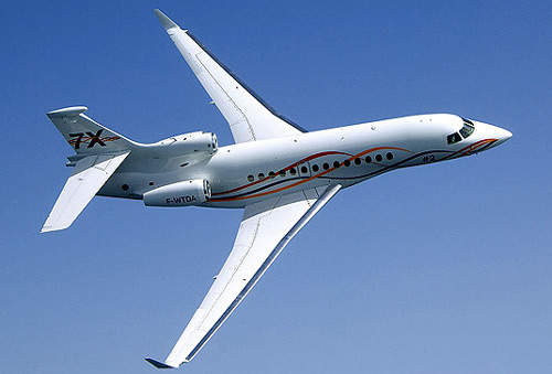 The Falcon 7X received FAA and EASA certification in April 2007.