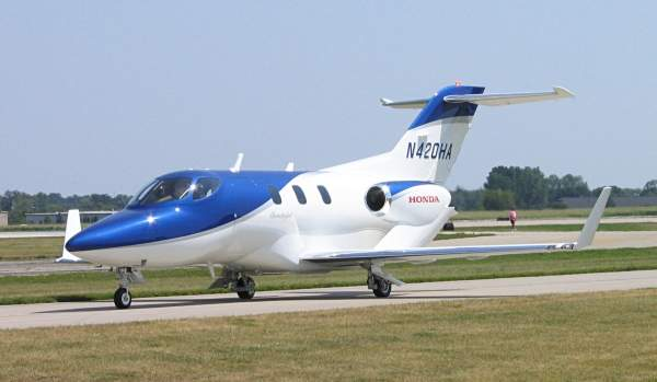 Honda HA-420 is a twin-engine business jet designed and being manufactured by US-based Honda Aircraft Company (HAC). Image courtesy of Michael Pereckas.