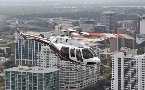 Bell 407GX is an advanced version of the Bell 407, introduced in 2008. Courtesy of Bell Helicopter Textron