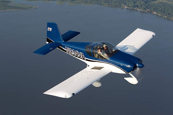 RV-14 is a two seat light sport aircraft designed and developed by Van's Aircraft. Image courtesy of Van's Aircraft.