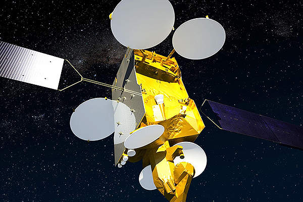 Artist's impression of the SES-6 communication satellite. Courtesy of: SES - www.ses.com.