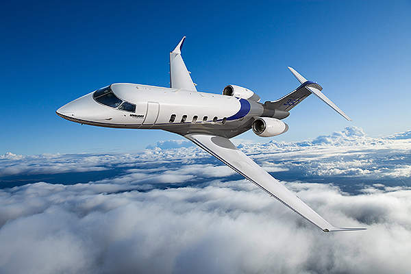 Challenger 350 has a long range of 5,926km and can serve intercontinental flights.