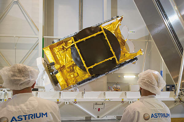The Astra 5B satellite was designed and manufactured by EADS Astrium. Image courtesy of EADS Astrium.