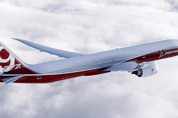 Boeing 777X will be available in two variants, namely the 777-9X and 777-8X. Image courtesy of Boeing.