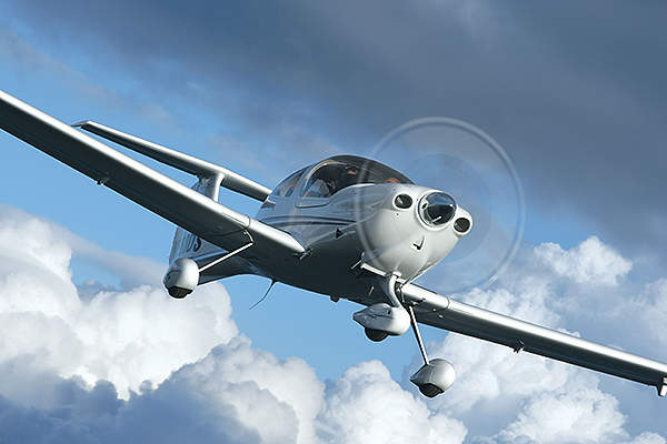 The DA40 XLT variant was launched in April 2013. Image courtesy of Diamond Aircraft.