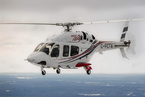 Bell 429WLG is an upgraded version of the Bell 429 helicopter. Image courtesy of Bell Helicopter Textron.