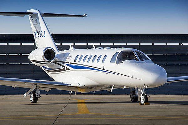 The CJ3+ business jet was launched in March 2014.