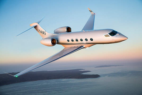 The G500 is a high-speed business jet designed and manufactured by Gulfstream Aerospace Corporation. Image courtesy of Gulfstream Aerospace Corporation.
