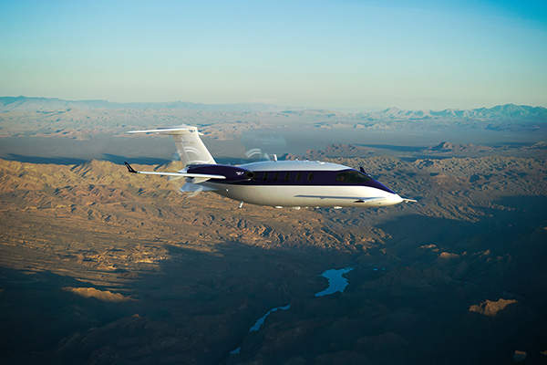 Piaggio Avanti EVO is the world's fastest multi-utility turboprop. Image courtesy of Piaggio Aero Industries S.p.A.