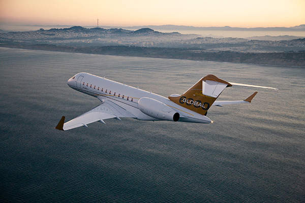 Global 6000 is the most luxurious business jet aircraft built by Bombardier.
