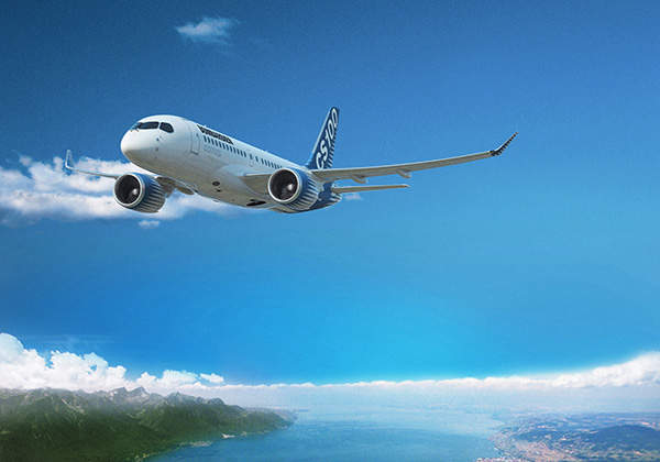 Bombardier CS100 is a new twin-engine, single-aisle jetliner from Bombardier Aerospace.