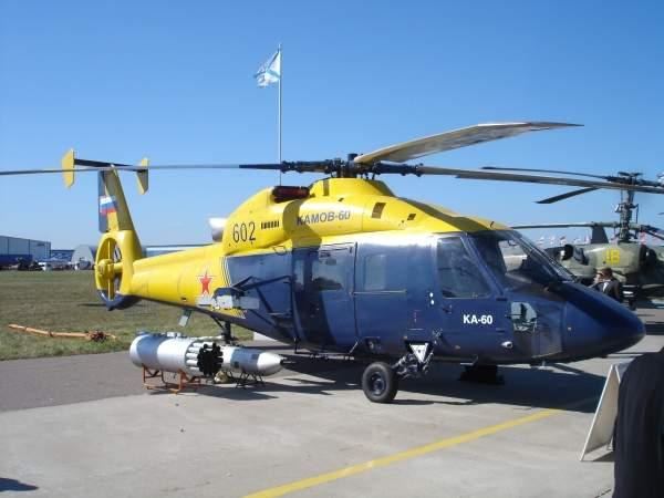 The Kamov Ka-60 is the base model for the development of the Ka-62 aircraft. Image courtesy of .:Ajvol:.
