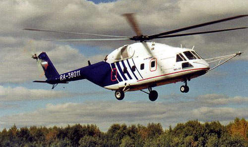 The maiden flight of the Mi-38 took place in October 2004 with a 750km flight from Kazan to Moscow.