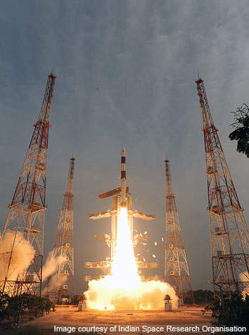 The Polar Satellite Launch Vehicle (PSLV) is a third generation rocket launcher designed by the Indian Space Research Organisation (ISRO).