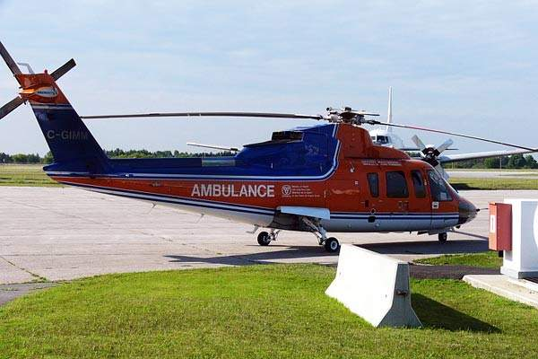 A multi-role, medium-size utility helicopter, the Sikorsky S-76 was manufactured by Sikorsky Aircraft Corporation, US.