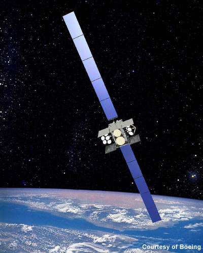 The wideband global SATCOM (WGS) system, previously known as the wideband gapfiller satellite system, is a high-capacity communication satellite.