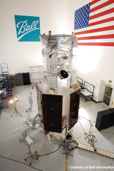 Worldview-2 is a remote-sensing satellite principally used to take high-resolution images of the earth.