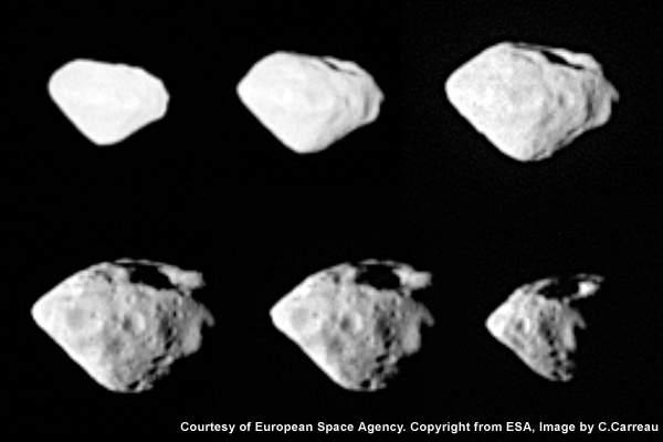 Asteroid Steins.