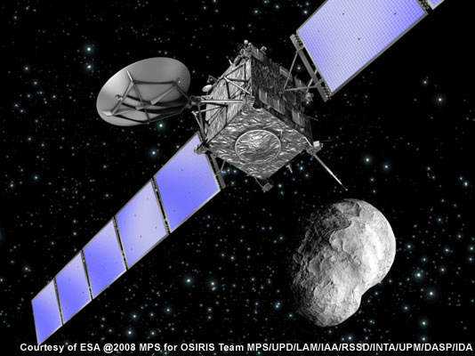 The Rosetta mission was eventually launched in March 2004.