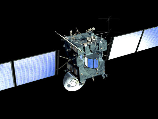 Rosetta is ESA's attempt to fly a probe to a comet and study it.