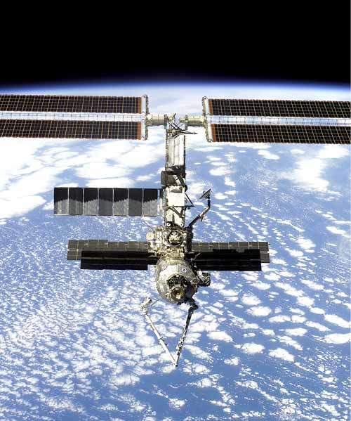 The International Space Station (ISS) is the largest international co-operative project in history.