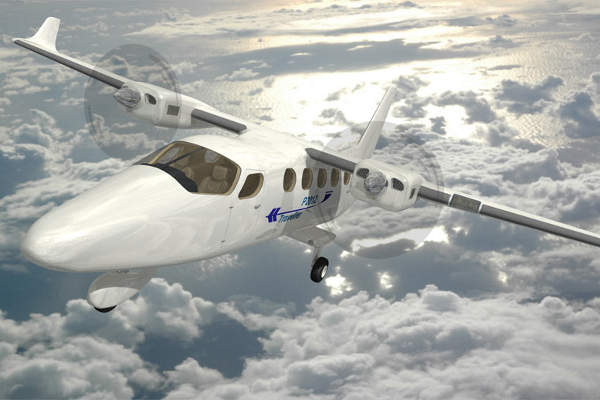 P2012 Traveller is a new high-winged medium-sized aircraft manufactured by Costruzioni Aeronautiche Tecnam. Image courtesy of Costruzioni Aeronautiche TECNAM.