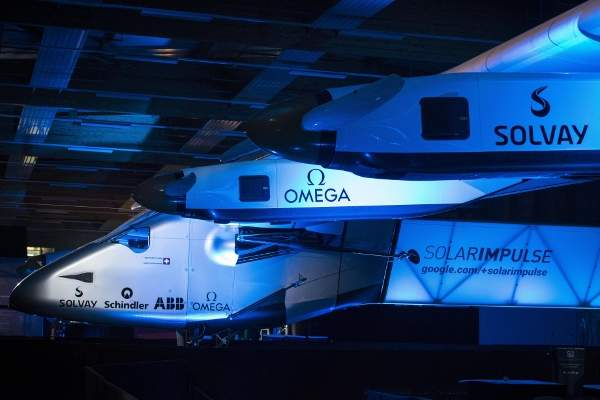 Solar Impulse 2 HB-SIB was introduced at the Payerne airbase in Switzerland in April. Image courtesy of Solar Impulse.