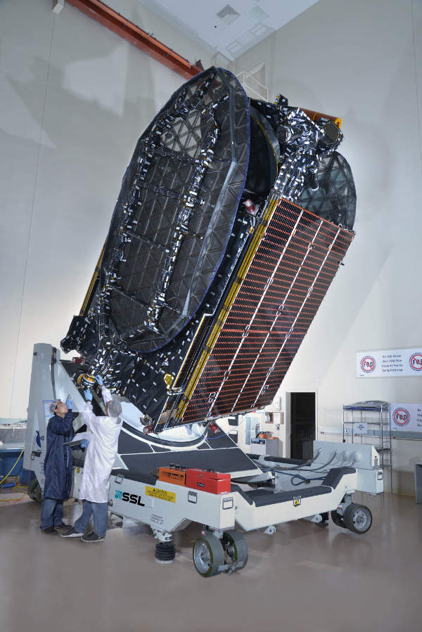 The AsiaSat 6 satellite is fitted with 28 high-powered C-band transponders.