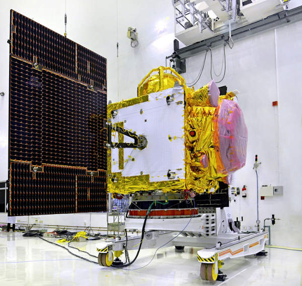IRNSS-1D satellite