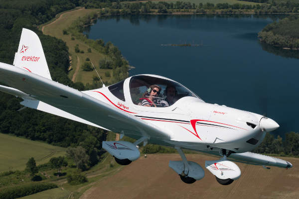 Harmony is a two-seat light sport aircraft (LSA) manufactured by Evektor-Aerotechnik. Image: courtesy of Evektor.